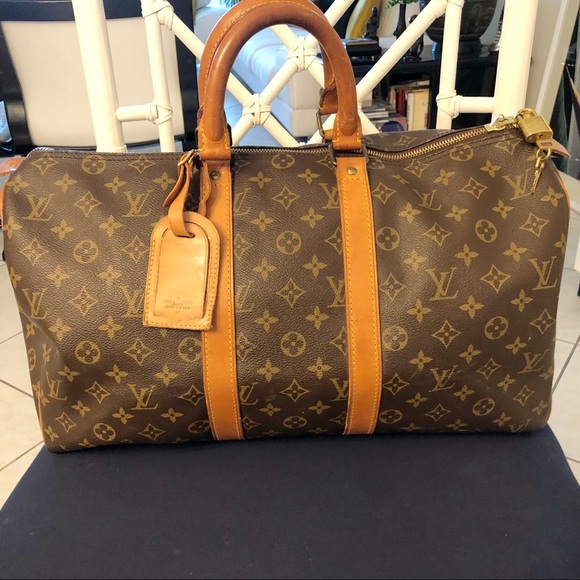 Louis Vuitton Handbags - Authentic Louis Vuitton Keepall 45 Travel Bag f54c35862c259